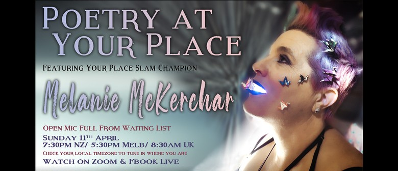 Poetry at Your Place feat. Melanie McKerchar - Event #37