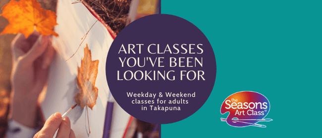 Weekend Adult Art Classes