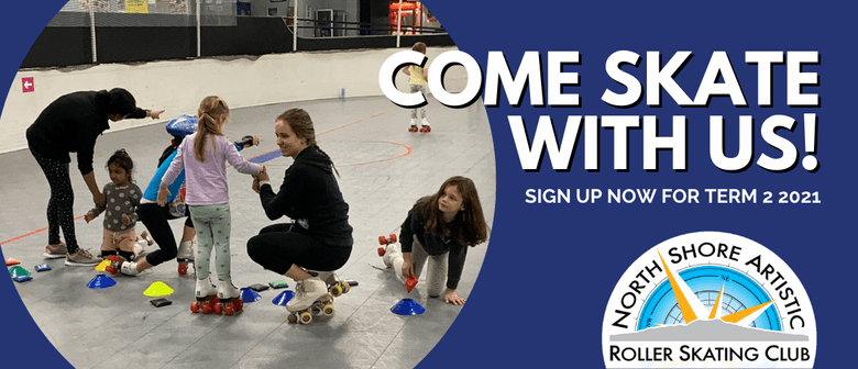 Come Skate With Us! Learn to skate Term 2 2021