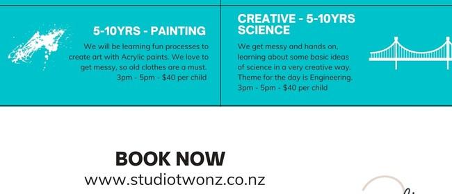 Kids and Teens Creative Workshops