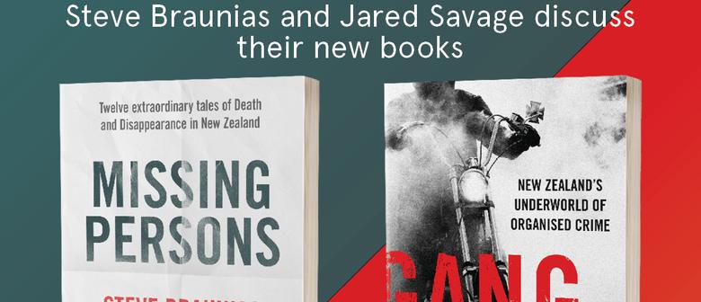 Journalists Steve Braunias and Jared Savage In Conversation