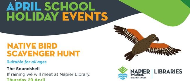 Native Bird Scavenger Hunt