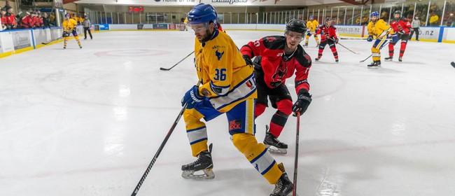 NZIHL SkyCIty Stampede vs Canterbury Devils
