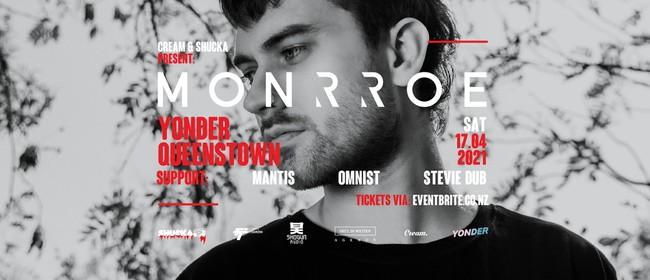 MONRROE (UK), Omnist, MantisNZ, Stevie Dub