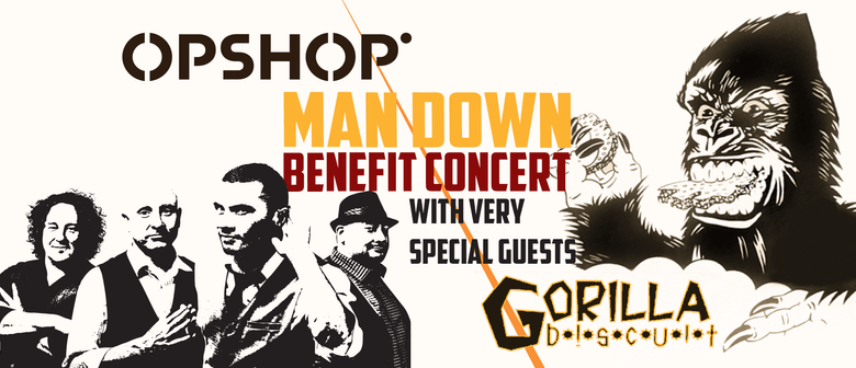 "Opshop ""Man Down"" Benefit Concert With Gorilla Biscuit"