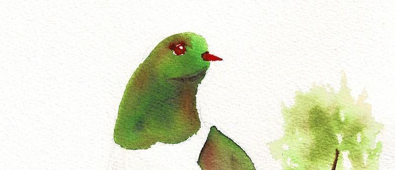 Watercolour & Wine Night - Kererū