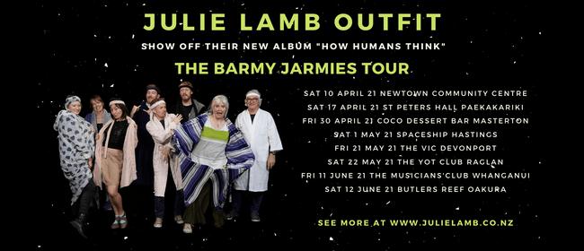 The Julie Lamb Outfit Barmy Jarmies Tour