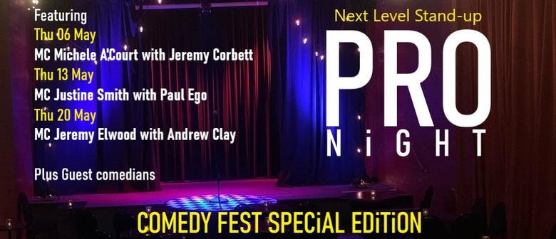 Pro Night : Comedyfest Special Edition