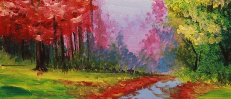 Paint & Chill Friday Night - Autumn Trees!