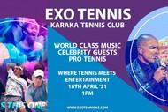 EXO Tennis - Where Professional Tennis Meets Entertainment