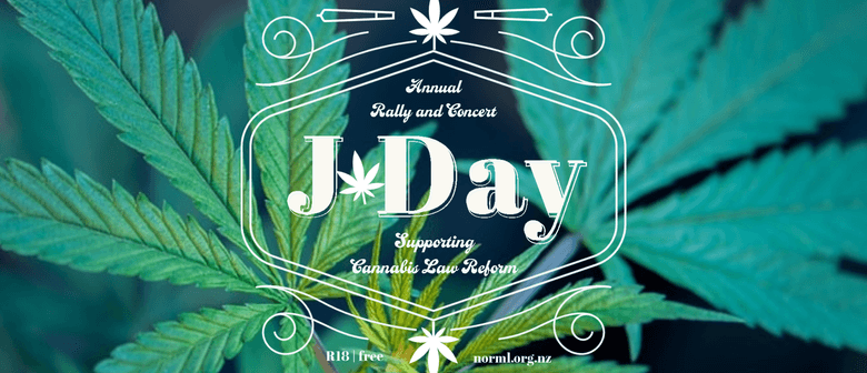 J Day - NZ's Annual Cannabis Festival and Protest