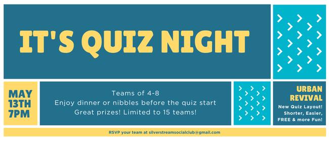 Silverstream Quiz Night