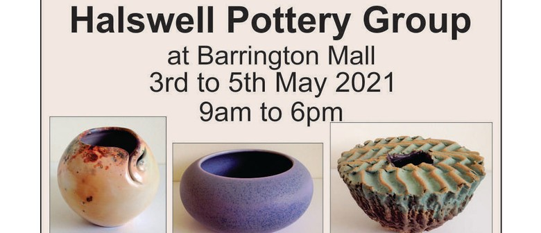 Halswell Pottery Group's Pottery Stall