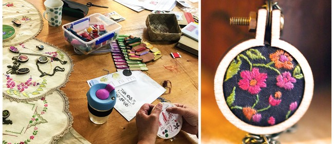 Mini Hoop Embroidery Workshops