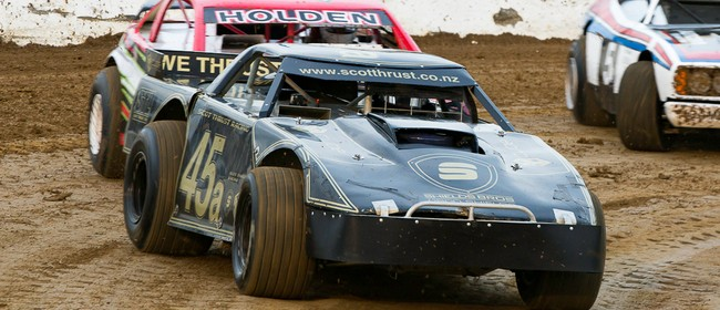 Stockcars King of the Park & Western Springs Midgets.
