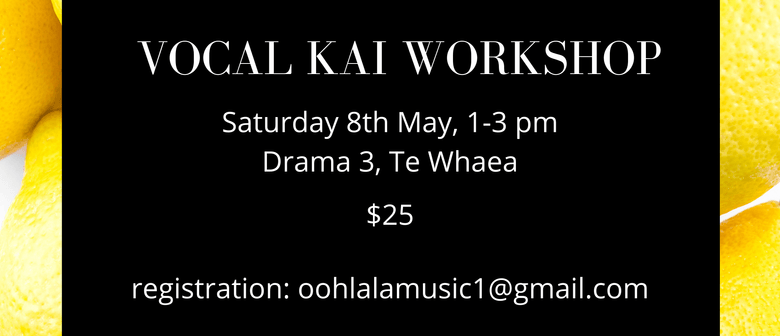 Vocal Kai Workshop