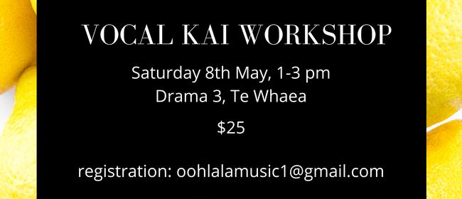 Vocal Kai Workshop