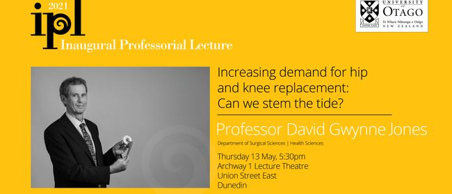 Inaugural Professorial Lecture -Professor David Gwynne Jones
