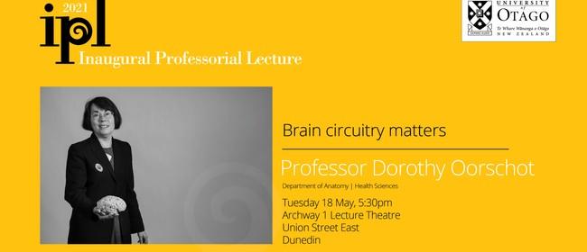 Inaugural Professorial Lecture - Professor Dorothy Oorschot