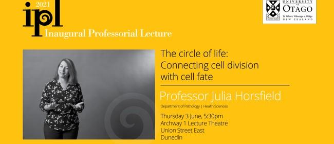 Inaugural Professorial Lecture - Professor Julia Horsfield: POSTPONED