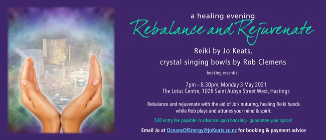 A Healing Evening to Rebalance and Rejuvenate