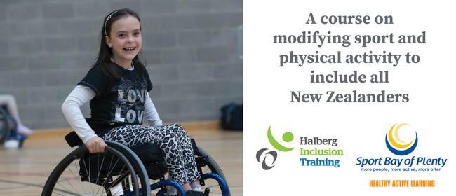 Halberg Inclusion Training