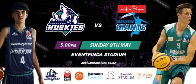 Auckland Huskies vs Nelson Giants