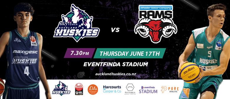 Auckland Huskies vs Canterbury Rams