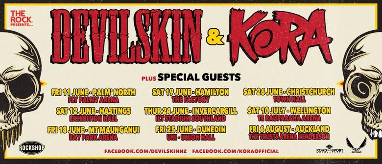 Devilskin & Kora NZ Tour