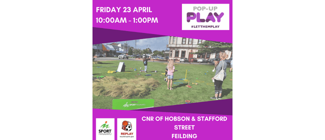 Pop-Up Play: Feilding