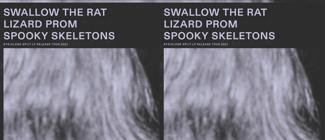 Swallow the Rat LP release w/ Lizard Prom & Spooky Skeletons