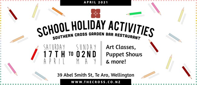 Kids School Holiday Art Classes: SOLD OUT