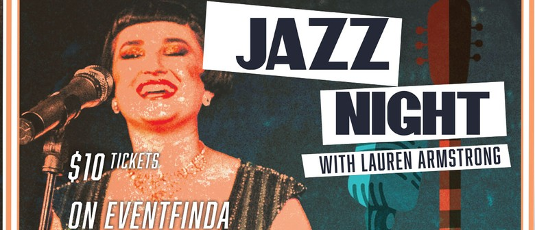 Jazz Night with Lauren Armstrong: CANCELLED