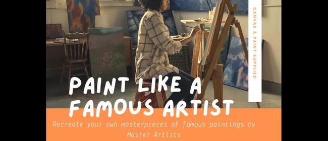 Paint Like a Famous Artist