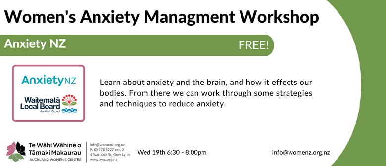 Women's Anxiety Management Workshop
