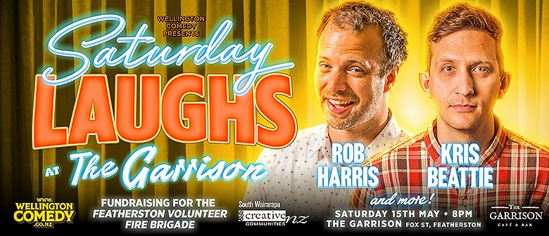 Saturday Laughs, with Rob Harris and Kris Beattie
