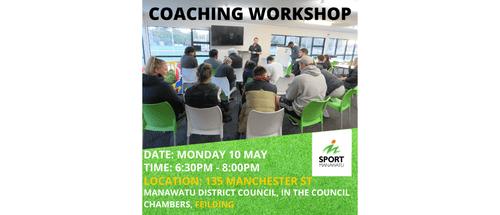 Coaching Workshop: Feilding