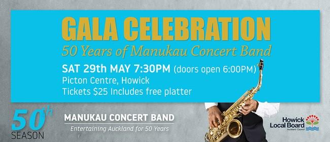 Gala Celebration - 50 Years of Manukau Concert Band