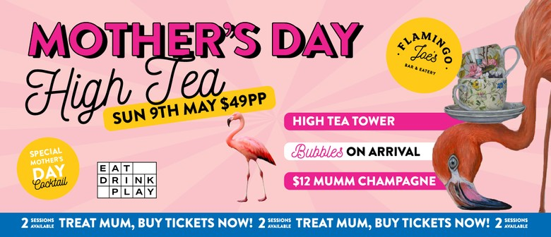 Mother's Day Cocktail High Tea
