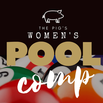 The Pig and Whistle's Women's Pool Competition