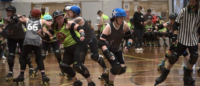 Ōtautahi Rollers Presents 1 Day, 3 Leagues, 6 Games