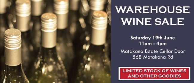 Warehouse Wine Sale