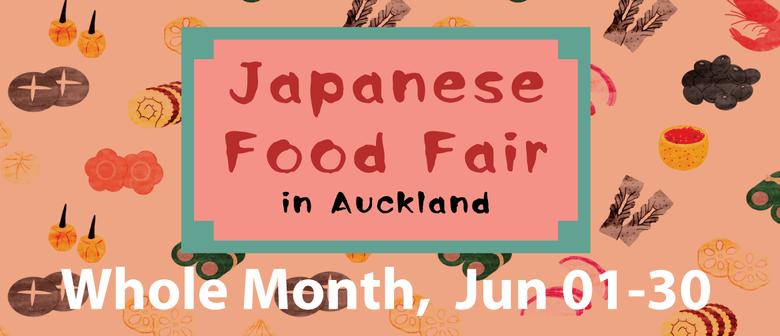 Japanese Food Fair