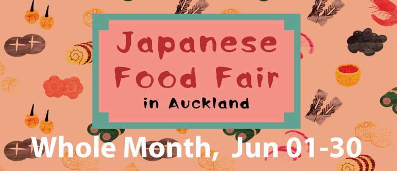 Japanese Food Fair Month