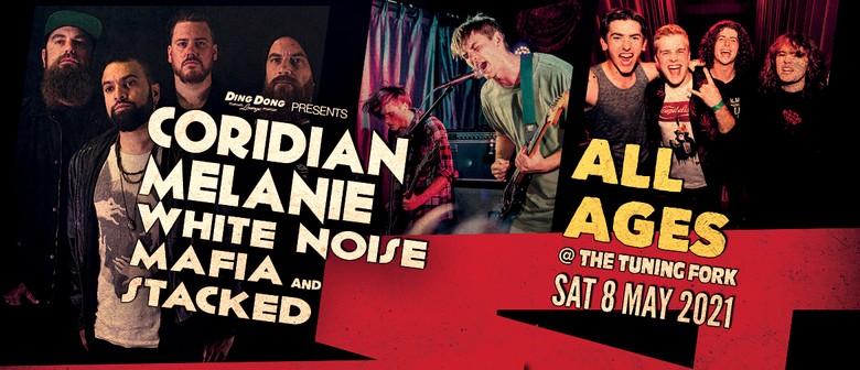 Coridian, Melanie, White Noise Mafia & Stacked