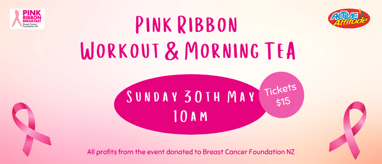 Pink Ribbon Workout & Morning Tea