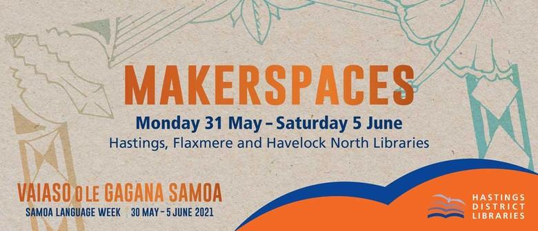Vaiaso o le Gagana Samoa - Makerspaces