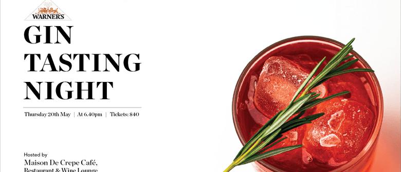 Warner's Gin Tasting