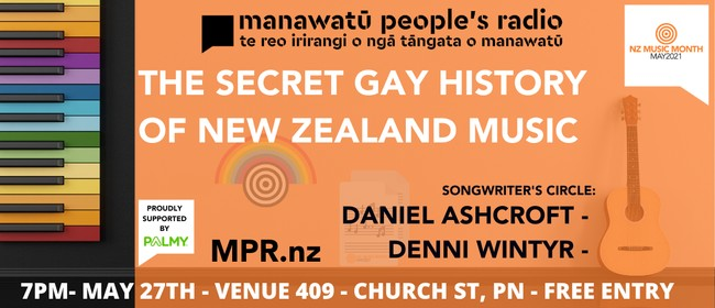 NZMM21 - The Secret Gay History of NZ Music