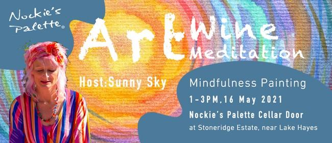 Art/Wine/Meditation- Mindfulness Painting Retreat